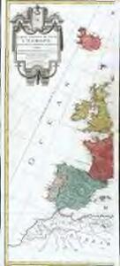 Carte générale de toute l'Europe, 1