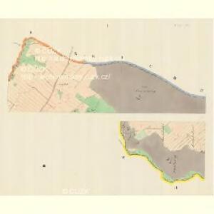 Deutschhause (Nemecka Husowa) - m0938-2-001 - Kaiserpflichtexemplar der Landkarten des stabilen Katasters
