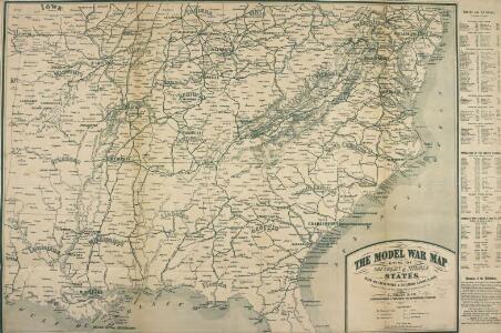 The Model War Map