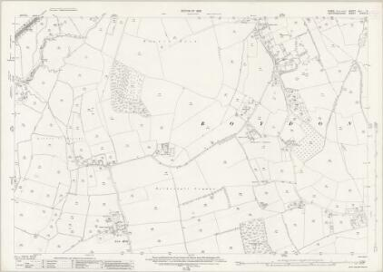 Essex (New Series 1913-) n LI.6 (includes: Roydon) - 25 Inch Map