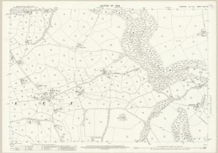 Yorkshire CXVIII.16 (includes: Aldfield; Markington With Wallerthwaite; Sawley) - 25 Inch Map