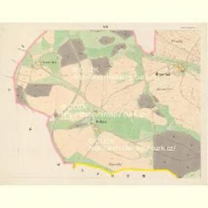 Gross Poreschin - c6026-1-007 - Kaiserpflichtexemplar der Landkarten des stabilen Katasters