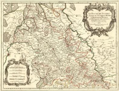 Le Duché de Iuliers, l'Abbaye de Sr. Cornelis Münster, la Baronie de Wickrad, et la Ville Imperiale d'Aix la Chapelle