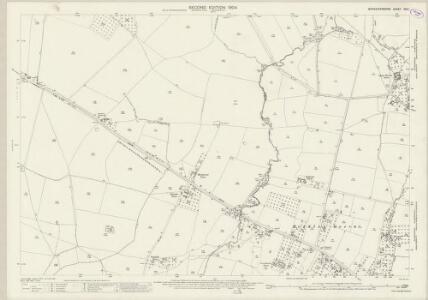 Worcestershire XXX.1 (includes: Feckenham; Hanbury; Stock and Bradley) - 25 Inch Map