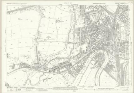 Lancashire CXV.4 (includes: Great Sankey; Penketh; Warrington) - 25 Inch Map