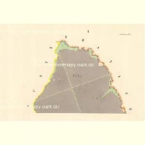 Ober Tieschitz (Hornitiessice) - m0832-1-001 - Kaiserpflichtexemplar der Landkarten des stabilen Katasters