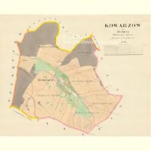 Kowarzow - m1310-1-001 - Kaiserpflichtexemplar der Landkarten des stabilen Katasters