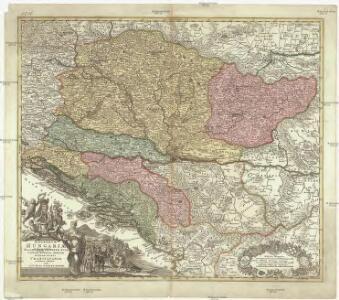 Regnorum Hungariae, Dalmatiae, Croatiae, Sclavoniae, Bosniae, Serviae et principatus Transylvaniae novissima exhibitio facta