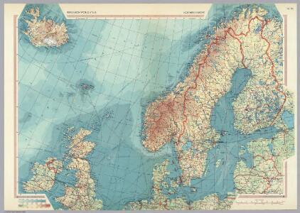 Northern Europe.  Pergamon World Atlas.