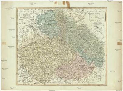 The kingdom of Bohemia with the dutchy of Silesia and the marquisates of Moravia and Lusatia