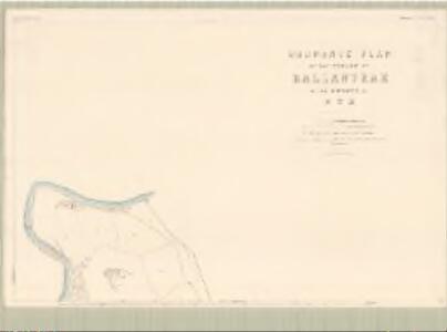 Ayr, Sheet LXVI.2 (Ballantrae) - OS 25 Inch map