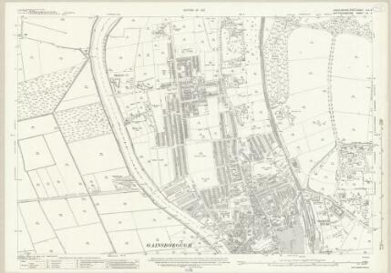Lincolnshire XLII.8 (includes: Beckingham; Gainsborough; Thonock; Walkeringham) - 25 Inch Map
