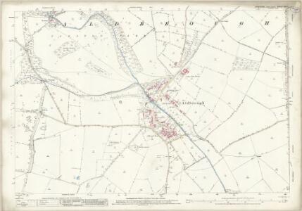 Yorkshire XXV.2 (includes: Aldbrough; Manfield; Stanwick St John) - 25 Inch Map