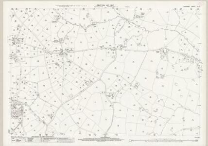 Cheshire XL.11 (includes: Little Budworth; Marton) - 25 Inch Map