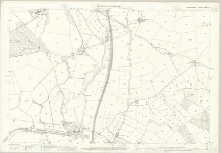 Staffordshire XXXVIII.10 (includes: Colwich; Ingestre; Stowe; Tixall) - 25 Inch Map