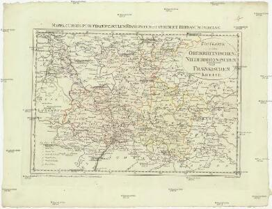 Postkarte von dem Oberrheinischen, Niederrheinischen und Fraenkischen Kreise
