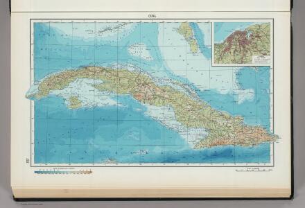 217.  Cuba.  Havana.  The World Atlas.