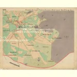Eisenstein Dorf - c7755-2-016 - Kaiserpflichtexemplar der Landkarten des stabilen Katasters