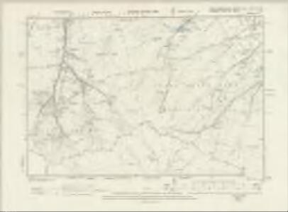 Northumberland CXI.NW & SW - OS Six-Inch Map