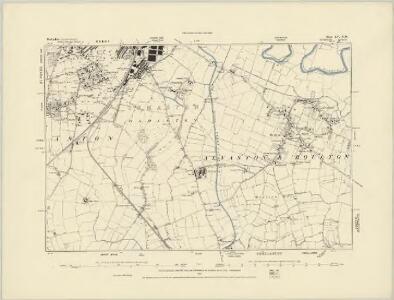 Derbyshire LV.SE - OS Six-Inch Map