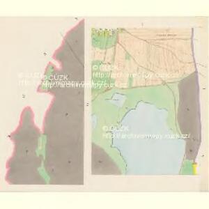 Slaboschowitz - c7035-1-004 - Kaiserpflichtexemplar der Landkarten des stabilen Katasters