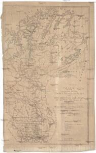Charte von dem Laufe der Flüsse Tornea, Muonio und Alten, nebst einem grossen Theile von Lappland und einem Stücke der Küsten des Eis-Meers