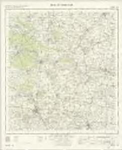 Bury St Edmunds - OS One-Inch Map
