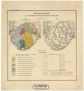 Spesielle kart 73:  Dialektformers udbredelse i Kristianssands stift