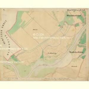 Prerau (Přerow) - m2453-1-012 - Kaiserpflichtexemplar der Landkarten des stabilen Katasters