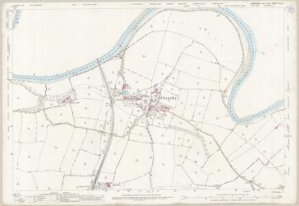Yorkshire XIV.16 (includes: Blackwell; Cleasby; Darlington; Low Coniscliffe; Manfield; Stapleton) - 25 Inch Map