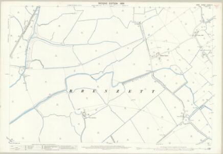 Kent LXXXIII.3 (includes: Brookland; Snargate) - 25 Inch Map
