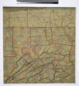 Map of Pennsylvania / constructed from the county surveys authorized by the state, and other original documents ; revised and improved under the supervision of Wm. E. Morris, civil engineer, upon data procured in each county ; engraved by Edwd. Yeager.