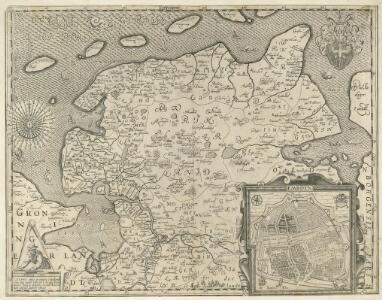 Typvs Frisiae Orientalis à Dullarto sinu atque Amasi ostio ad Iada usque fl. singulari studio ac industria concinnat. et vivum expresso