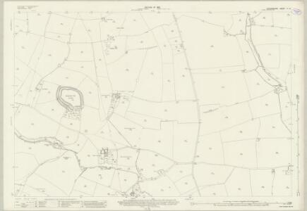 Oxfordshire V.14 (includes: Broughton; North Newington; Shutford; Swalcliffe; Tadmarton) - 25 Inch Map