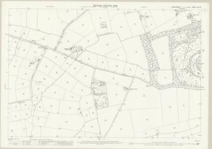 Lincolnshire LXIII.16 (includes: Baumber; Great Sturton; Minting) - 25 Inch Map