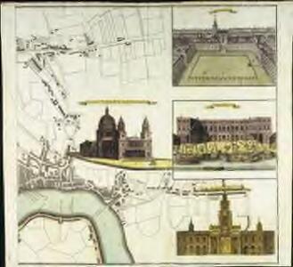 Vrbium Londini et West-Monasterii nec non suburbii Southwark accurata ichnographia, 3