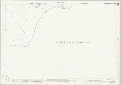 Buckinghamshire XXIX.6 (includes: Tring Rural; Wingrave with Rowsham) - 25 Inch Map