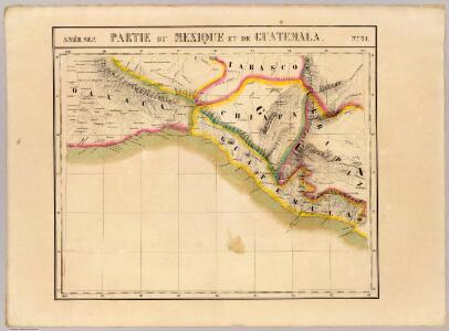 Partie, Mexique, Guatemala. Amer. Sep. 71.