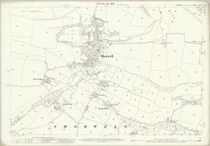 Hampshire and Isle of Wight XCVII.4 (includes: Gatcombe; Newport; Shorwell) - 25 Inch Map