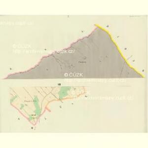 Oberdorf (Hornj Rokitnice) - c2136-1-001 - Kaiserpflichtexemplar der Landkarten des stabilen Katasters