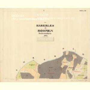 Haberles - c5610-1-001 - Kaiserpflichtexemplar der Landkarten des stabilen Katasters