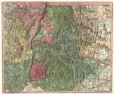 Cursus Rheni supra Argentoratum et Regiones Adiacentes