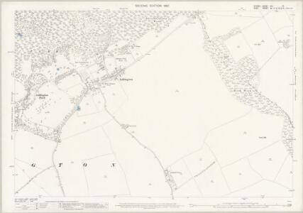 Surrey XIV.16 (includes: Beckenham; Croydon St John The Baptist) - 25 Inch Map
