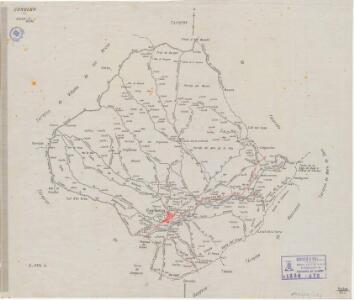 Mapa planimètric de Corbera