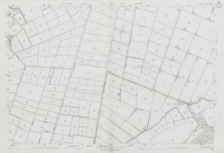 Somerset LXII.7 (includes: Aller; High Ham; Middlezoy; Othery) - 25 Inch Map
