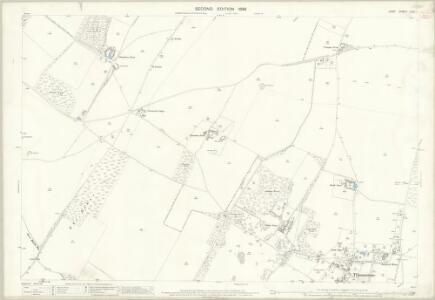 Kent LVIII.1 (includes: Eastry; Nonington; Tilmanstone) - 25 Inch Map