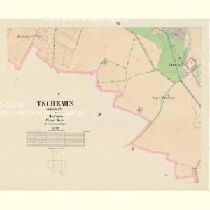 Tschemin (Czemin) - c0842-1-006 - Kaiserpflichtexemplar der Landkarten des stabilen Katasters