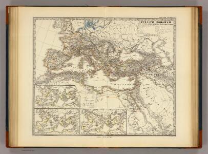 Imperium Romanum inde a bello Actiaco usque ad Diocletiani tempus.