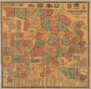 Map of Middlesex County, Massachusetts : based upon the trigonometrical survey of the state