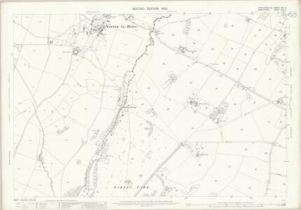Staffordshire XXII.6 (includes: Mucklestone; Norton In Hales) - 25 Inch Map